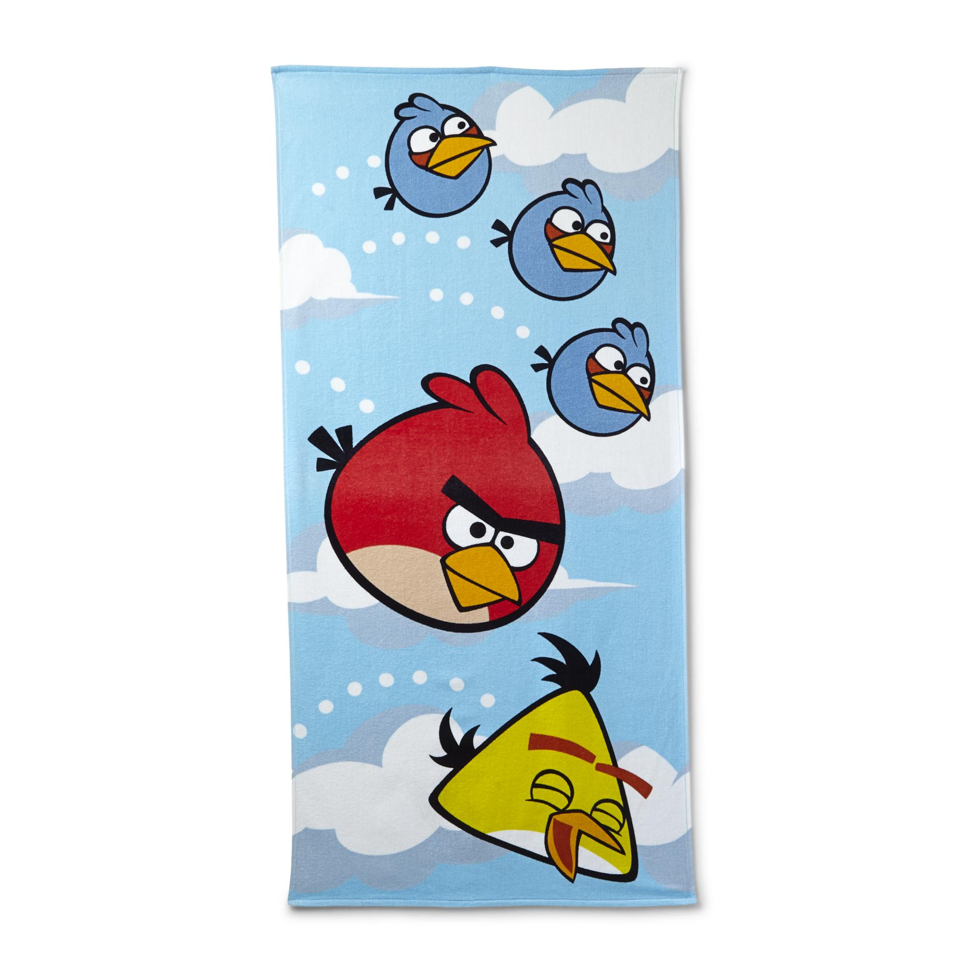 Beach Towel - Red Bird