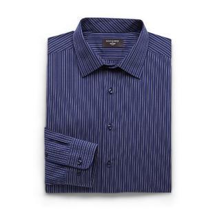 Dockers Men's Long-Sleeve Fitted Dress Shirt - Striped