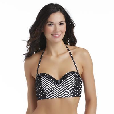 Joe Boxer Junior's Ruffle Push-Up Bikini Top - Mixed Print at Sears.com