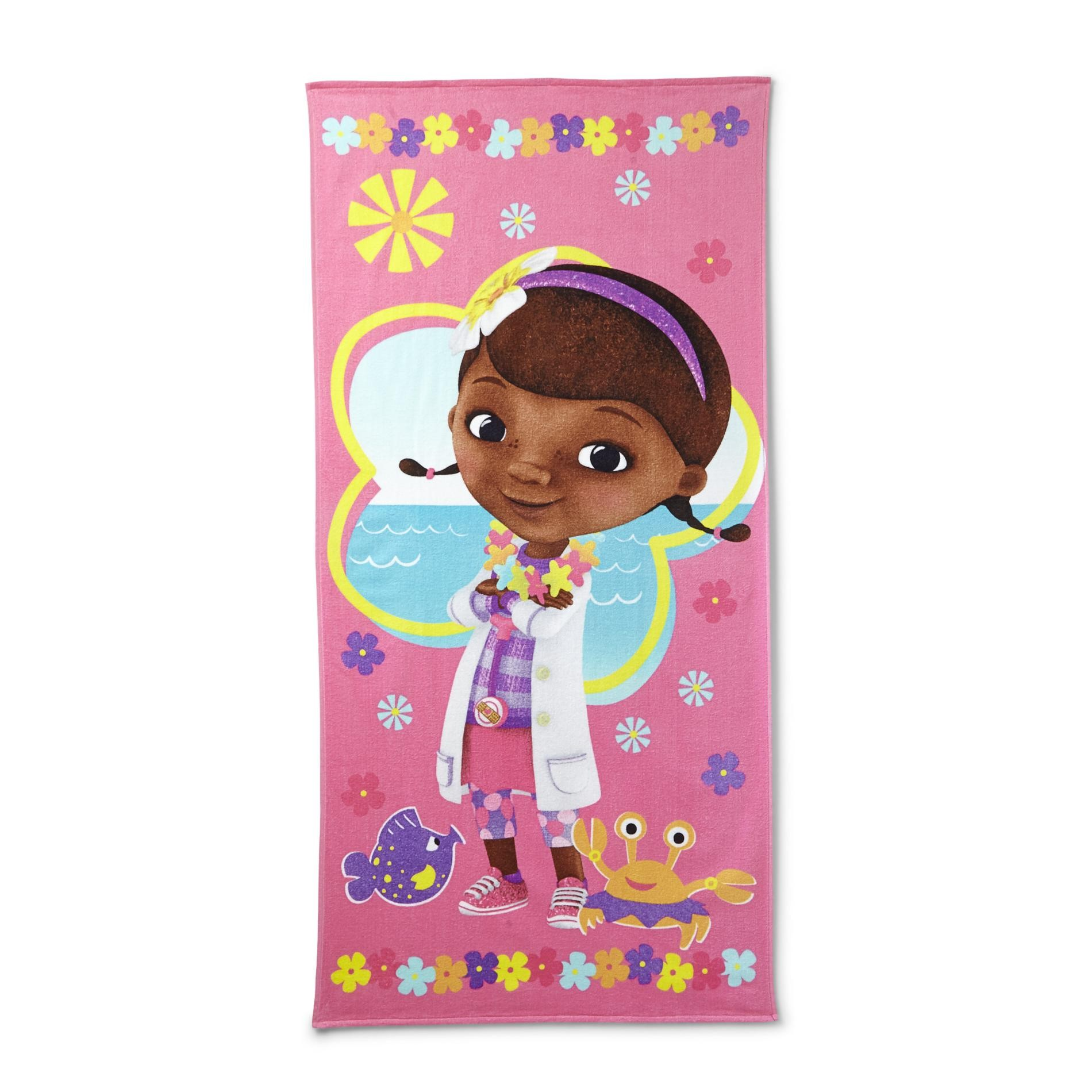 Girl's Beach Towel - Doc McStuffins