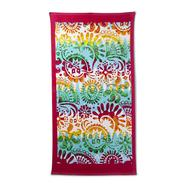 Cotton Terry Beach Towel - Batik at Kmart.com