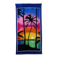 Cotton Terry Beach Towel - Palm Trees at Kmart.com