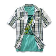 Canyon River Blues Boy's T-Shirt & Dress Shirt - Plaid at Sears.com