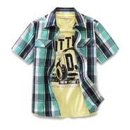 Canyon River Blues Boy's Woven Shirt & T-Shirt - Malibu Surf at Sears.com
