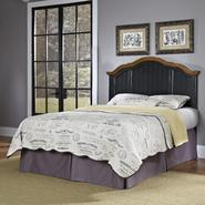 Home Styles Oak and Rubbed Black French Countryside Full/Queen Headboard at Kmart.com