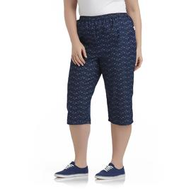 Chic Women's Plus Skirted Capris at Kmart.com