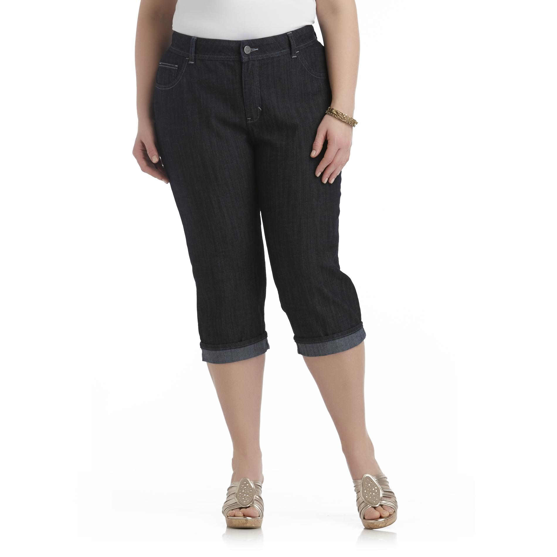 Riders by Lee Women's Plus Slender Stretch Embellished Capris at Kmart.com