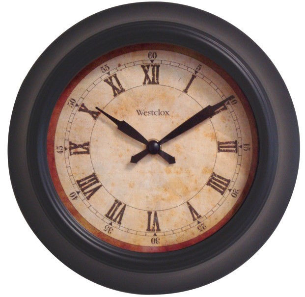 Wall-Clock-with-Vintage-Face