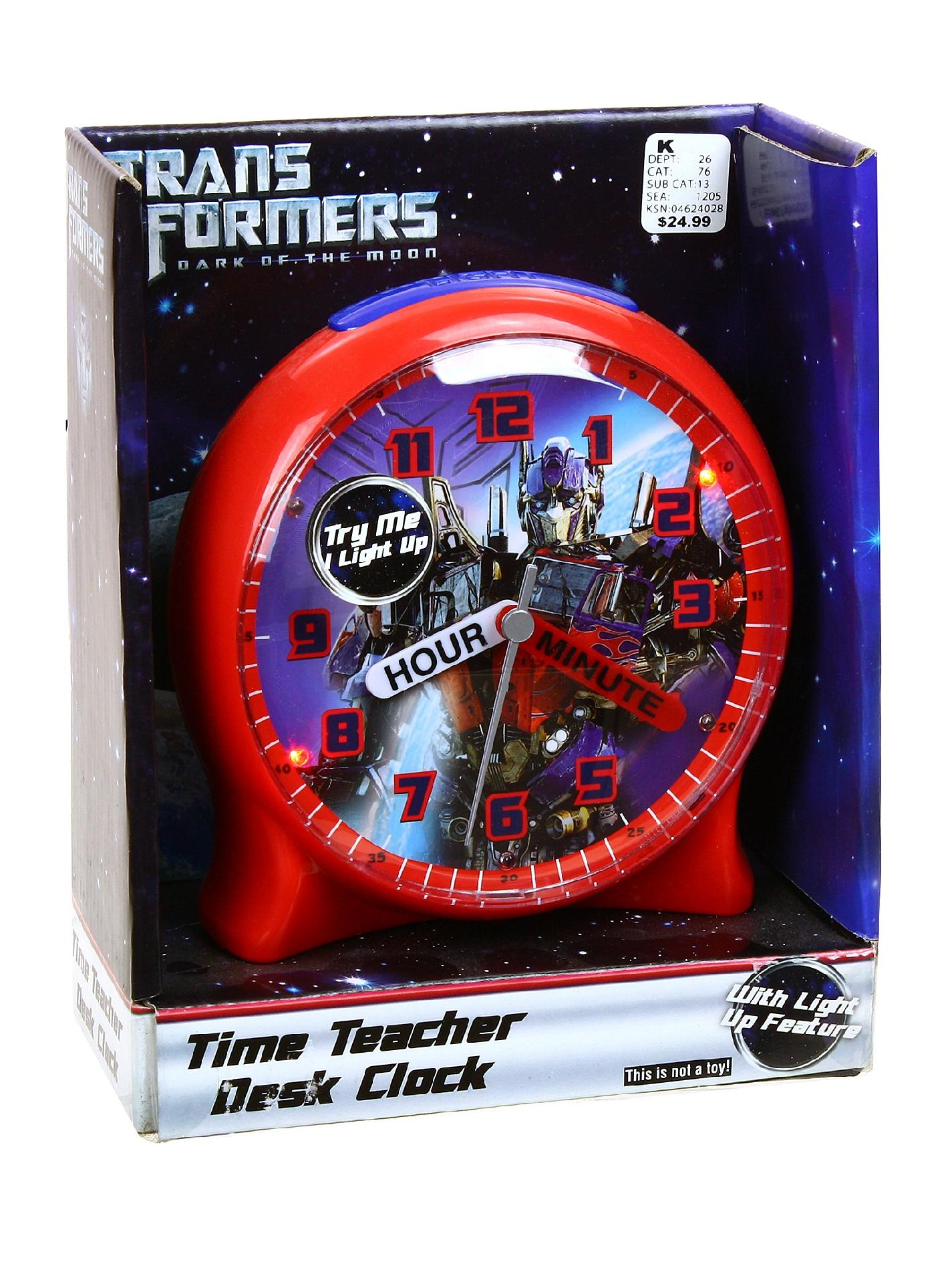 Transformer-Time-Teacher-Clock