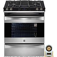 "Kenmore Elite 30"" Slide-In Gas Range - Stainless Steel at Kenmore.com"