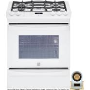 "Kenmore Elite 30"" Slide-In Gas Range White at Kenmore.com"