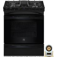 "Kenmore Elite 30"" Slide-In Gas Range Black at Sears.com"