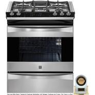 "Kenmore Elite 30"" Slide-In Gas Range Stainless Steel at Sears.com"
