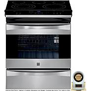 "Kenmore Elite 30"" Slide-In Electric Range w/ Convection - Stainless Steel at Kenmore.com"
