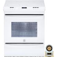 "Kenmore Elite 30"" Slide-In Electric Range White at Sears.com"
