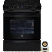 "Kenmore Elite 30"" Slide-In Electric Range Black at Kenmore.com"