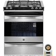 Kenmore Elite 4.2 cu. ft. Slide-In Dual Fuel Range - Stainless Steel at Sears.com