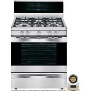 Kenmore Elite 5.6 cu. ft. Gas Range w/ True Convection - Stainless Steel at Kenmore.com