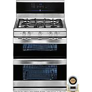 Kenmore Elite 5.8 cu. ft. Double-Oven Gas Range - Stainless Steel at Sears.com