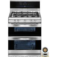 Kenmore Elite 5.8 cu. ft. Double-Oven Gas Range - Stainless Steel at Kenmore.com