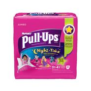 Pull-Ups ® Training Pants, Night*Time for Girls 3T-4T, 21ct at Kmart.com