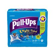 Pull-Ups ® Training Pants, Night*Time for Boys 2T-3T, 24ct at Kmart.com