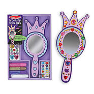 Melissa & Doug Wooden Princess Mirror - DYO at Sears.com