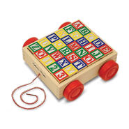 Melissa & Doug Classic ABC Block Cart at Sears.com