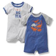 Carter's Newborn & Infant Boy's 2-Pack Creepers - Dinosaurs at Sears.com