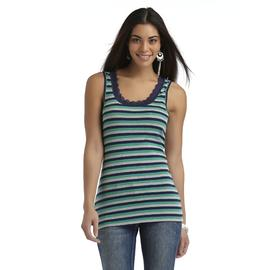 Canyon River Blues Women's Ribbed Tank Top - Striped at Sears.com