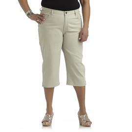 Riders by Lee Women's Plus Colored Twill Capris at Kmart.com