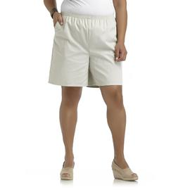 Chic Women's Plus Twill Shorts at Kmart.com
