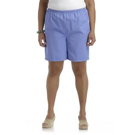 Riders by Lee Women's Plus Twill Shorts at Kmart.com