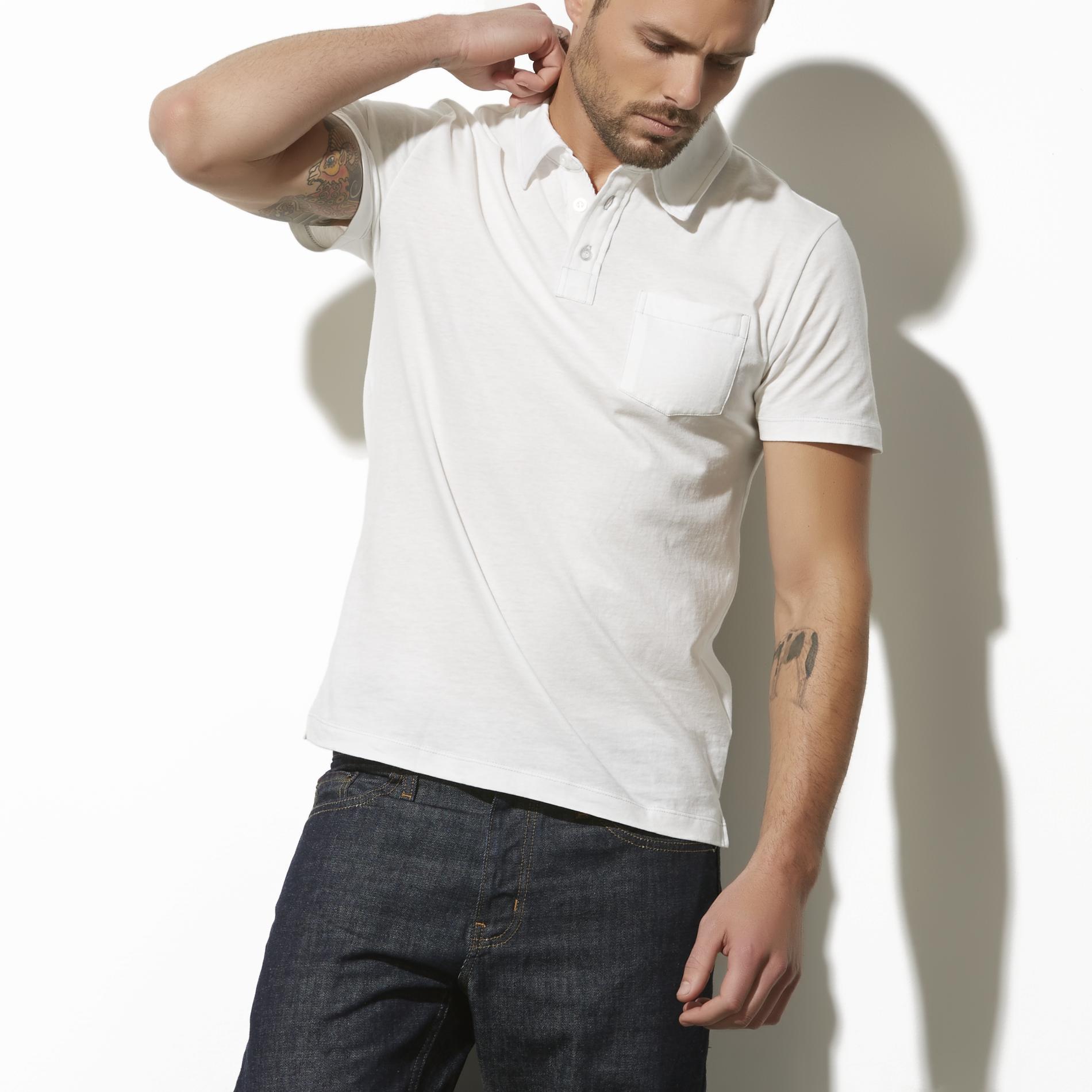 Adam Levine Men's Pocket Polo Shirt at Kmart.com