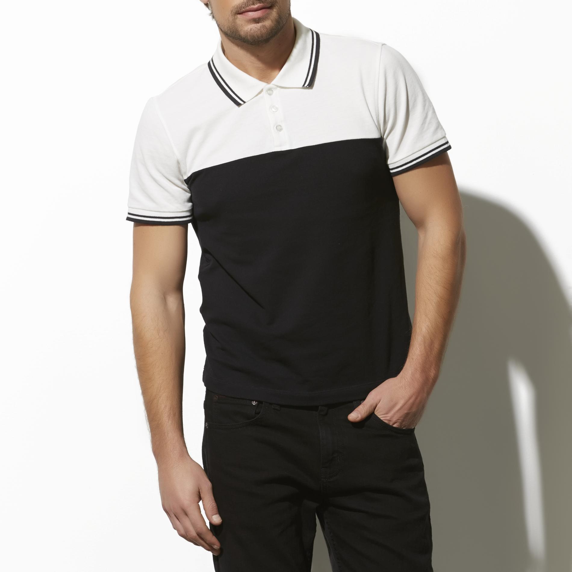 Adam Levine Men's Polo Shirt - Colorblock at Kmart.com
