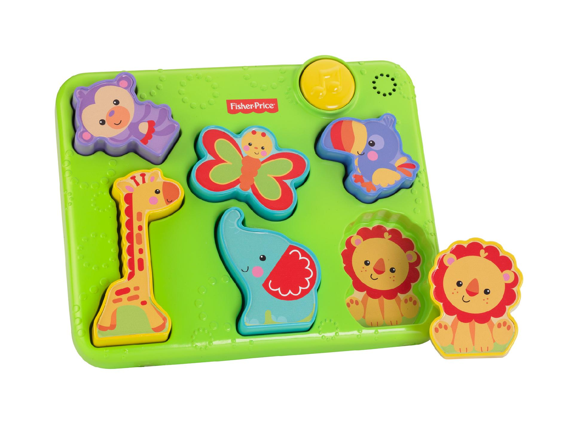 Image of Fisher-Price Silly Sounds Puzzle, Multi-color