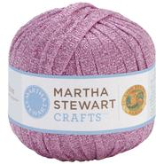 Lion Brand Martha Stewart Glitter Ribbon Yarn-Amethyst at Kmart.com