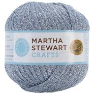 Lion Brand Martha Stewart Glitter Ribbon Yarn-Blue Sapphire at Kmart.com