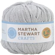 Lion Brand Martha Stewart Glitter Ribbon Yarn-Sterling at Kmart.com