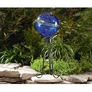 Essential Garden Glow in the Dark Gazing Ball - Blue at Kmart.com