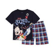 Disney Baby Infant & Toddler Boy's T-Shirt & Shorts - Mickey Mouse at Kmart.com