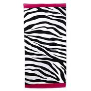 Colormate Beach Towel - Zebra Stripe at Sears.com
