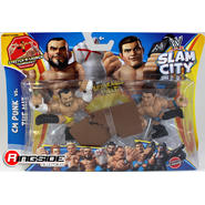 WWE CM Punk & The Miz - WWE Slam City 2-Pack Toy Wrestling Action Figures at Sears.com