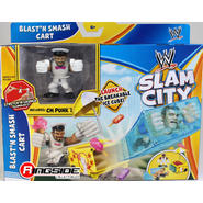 WWE CM Punk w/ Blastin Smash Ice Cream Cart - WWE Slam City Toy Wrestling Action Figure & Playset at Sears.com
