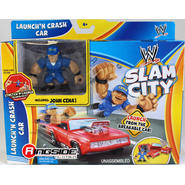 WWE John Cena w/ Launchin Crash Car - WWE Slam City Toy Wrestling Action Figure & Playset at Kmart.com