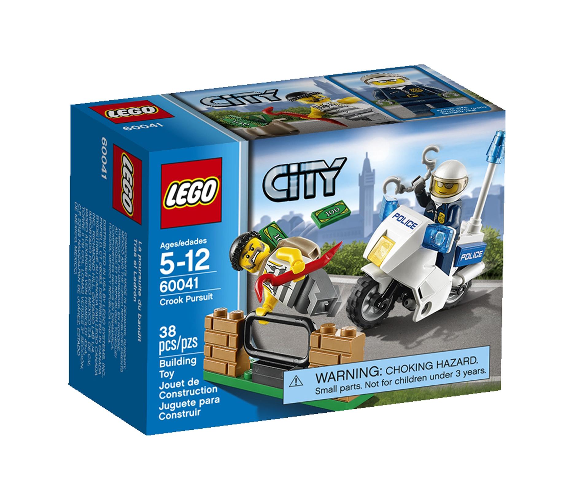 LEGO CITY Police Crook Pursuit #60041