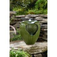Garden Oasis Green Glazed Pot Fountain at Sears.com