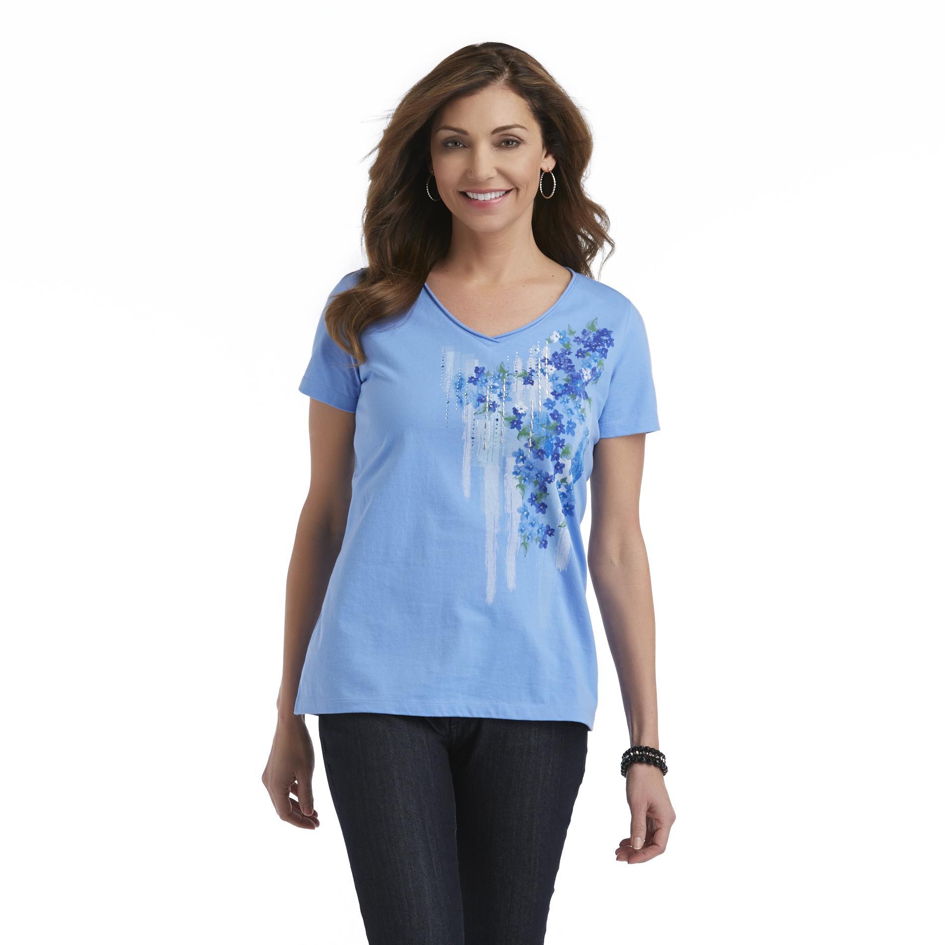 Laura Scott Women's V-Neck T-Shirt at Sears.com