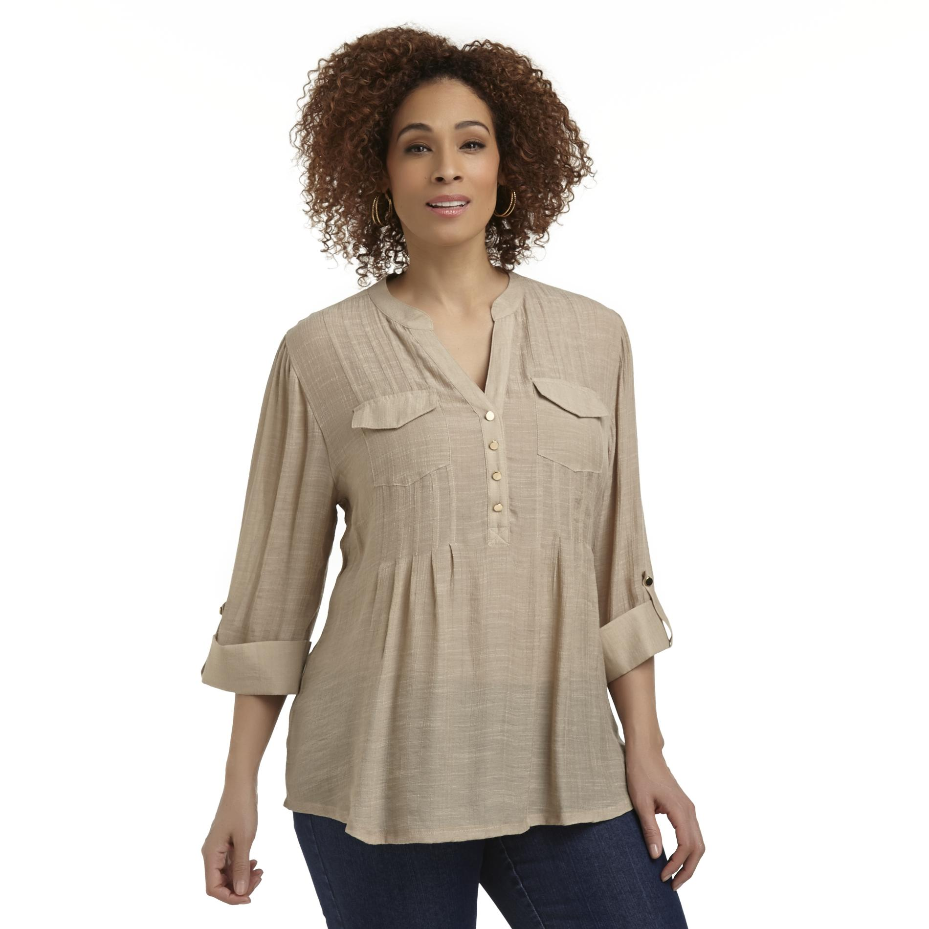 Beverly Drive Women's Plus Tunic Top at Sears.com