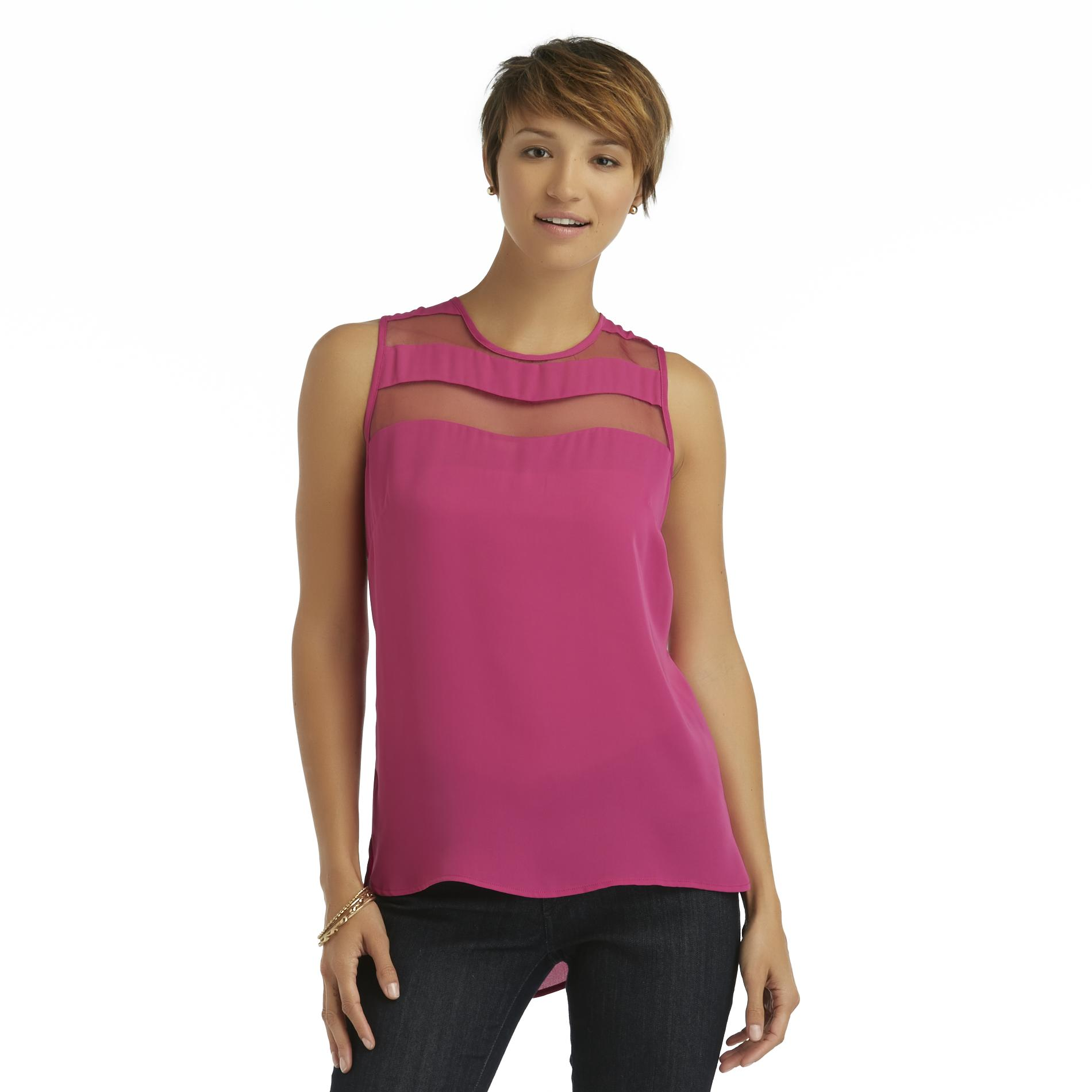 Metaphor Women's Semi-Sheer Tank Top at Sears.com